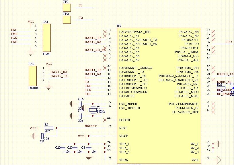 iap15w4k最小系统电路