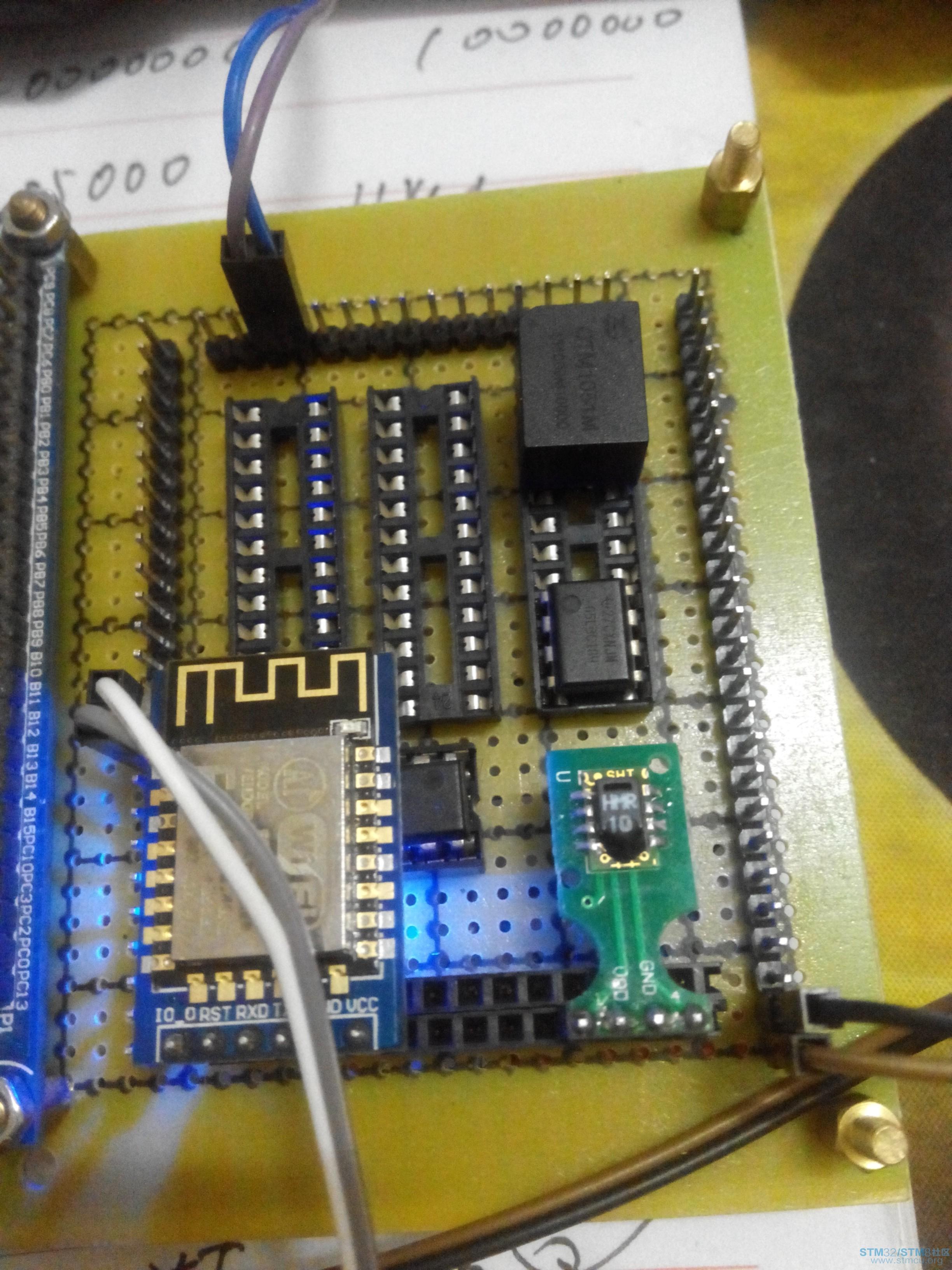 基于stm32的sht1x温湿度监测