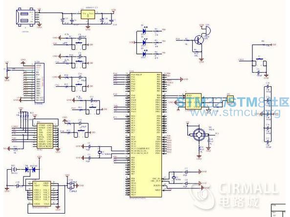 【毕设】基于stm32f103的can总线通信节点设计(原理图